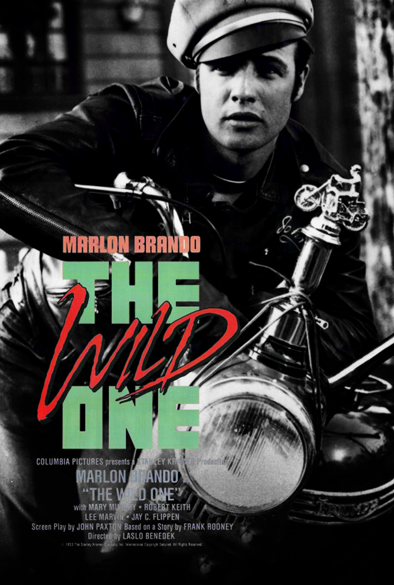 """The Wild One"" Filminin Afişi"