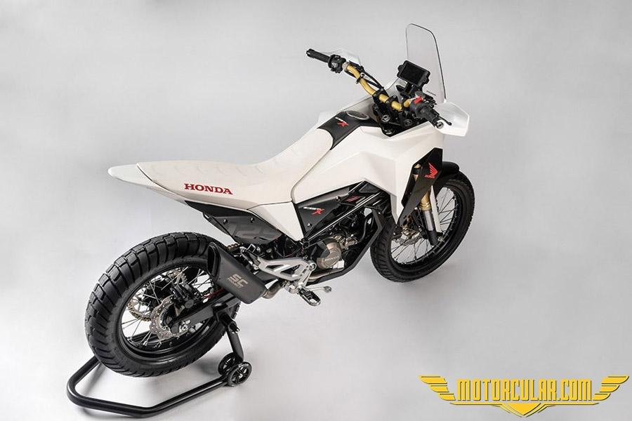 Honda CB125X konsept