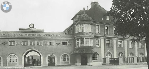 BMW Fabrika Binası, 1925