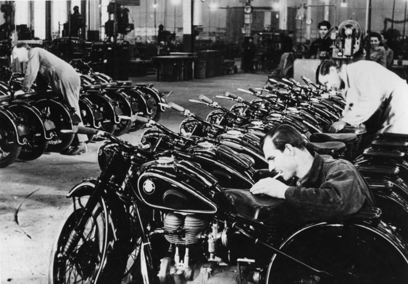 BMW Üretim Hattı, 1948