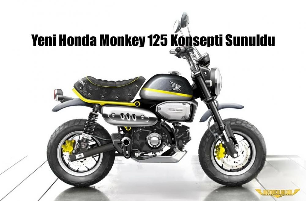 Yeni Honda Monkey 125 Konsepti Sunuldu