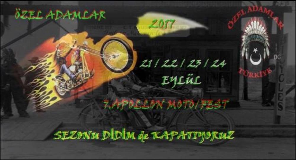 7. Apollon Motofest, Didim 21-24 Eylül 2017