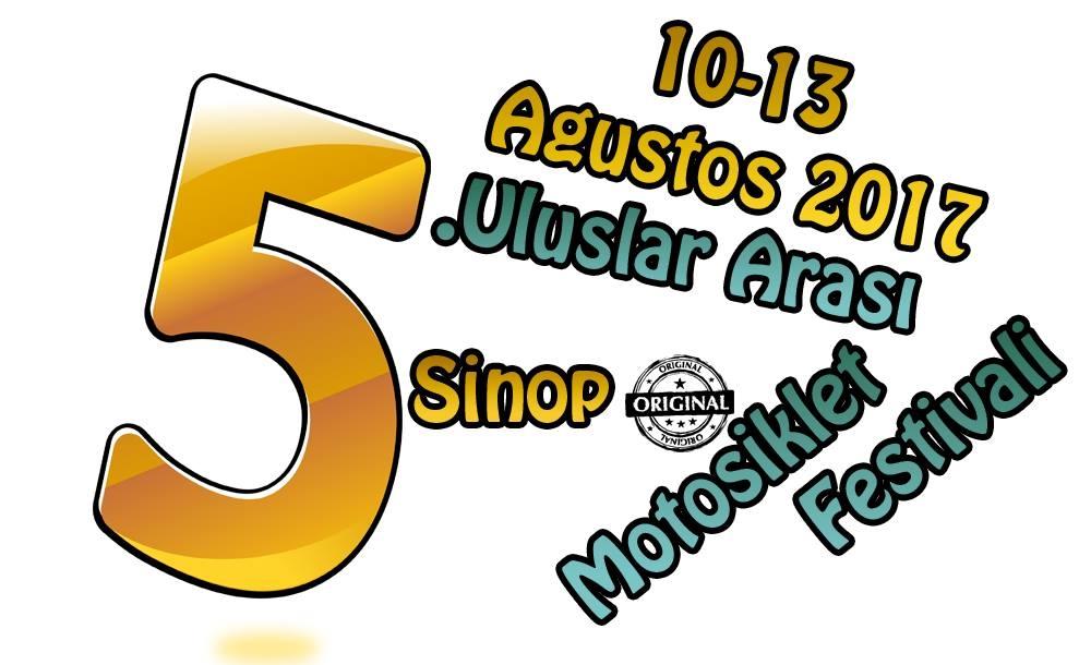 5. Uluslararası Sinop Motosiklet Festivali 10-13 Ağustos 2016
