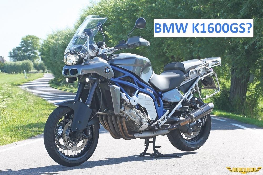 Özel Yapım BMW GS: 1600cc ve 160 Beygir