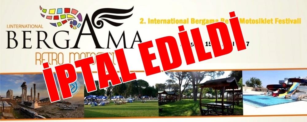 2. International Bergama Retro Motosiklet Festivali, Bergama 15-17 Eylül 2017