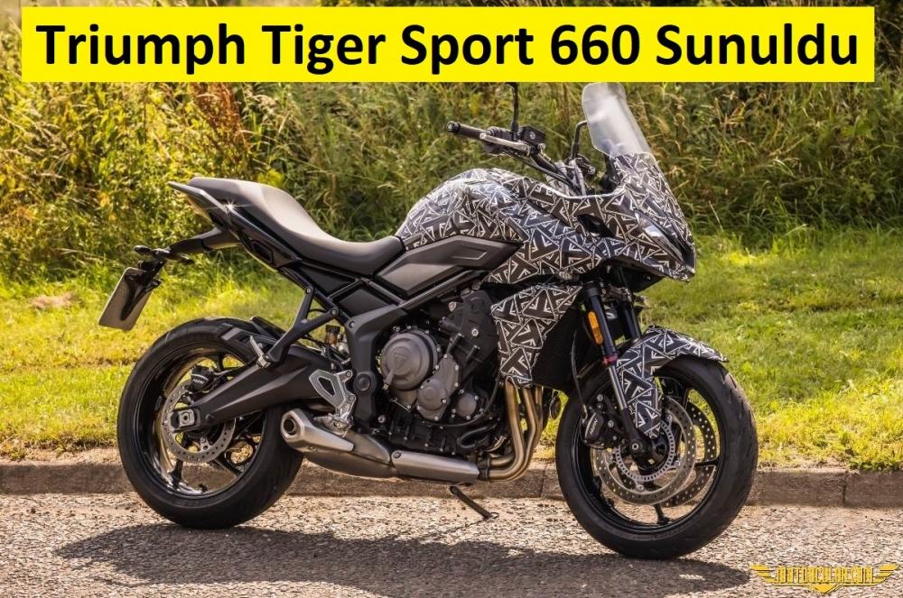 Triumph Tiger Sport 660 Ortaya Çıktı