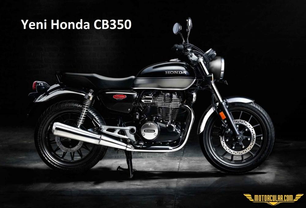 Honda'nın Royal Enfield'a Cevabı Yeni CB350