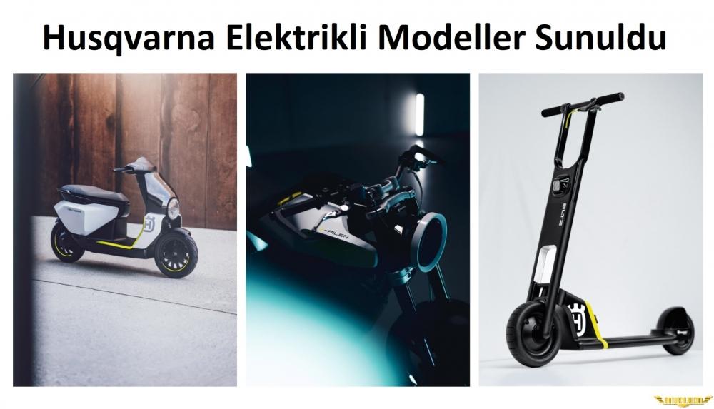 Husqvarna'nın Elektrikli Modelleri Geliyor