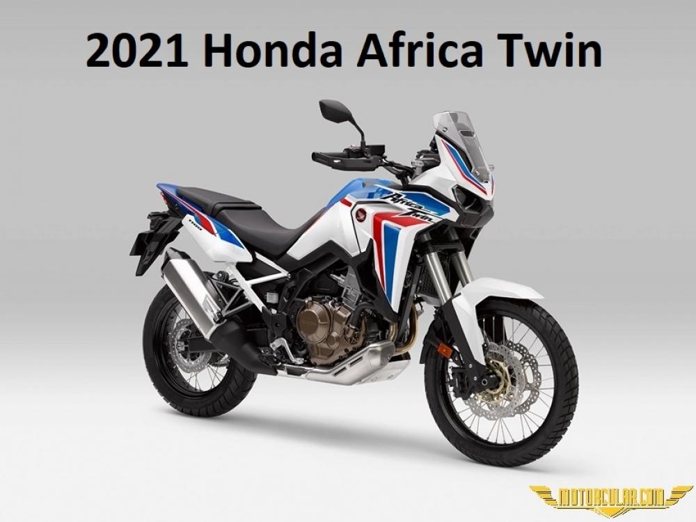 2021 Honda Africa Twin'in Yeni HRC Rengi