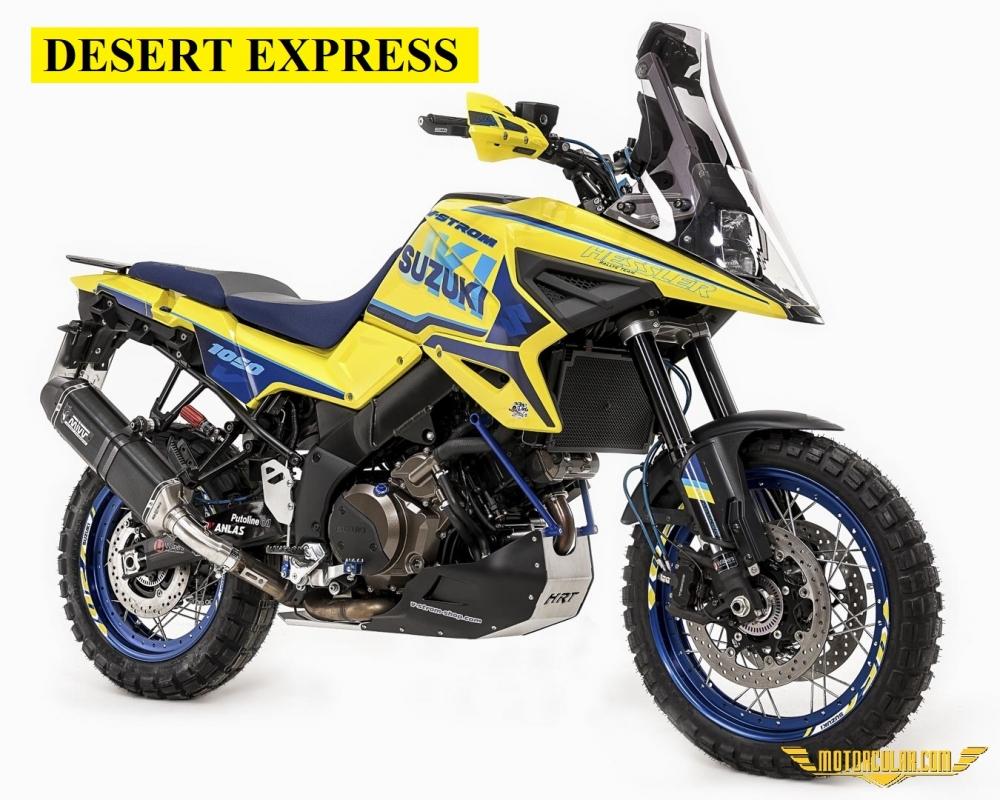 Suzuki V-Strom 1050XT Desert Express Ralli Kiti