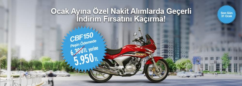 Honda CBF 150 Nakit Alım Kampanyası