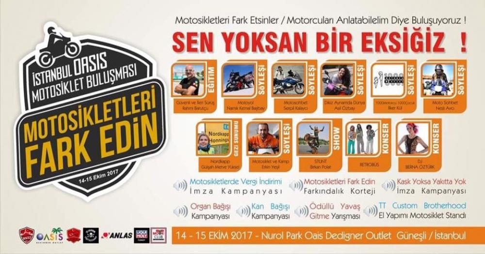 Motosikletleri Farkedin İstanbul Motosiklet Buluşması - MKSF