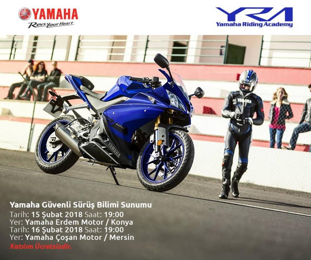 Yamaha Güvenli Sürüş Bilimi Sunumu - Mersin