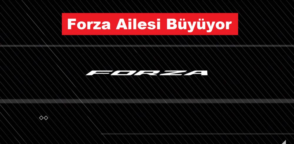 Yeni Honda Forza Maxi Scooter Modeli Geliyor