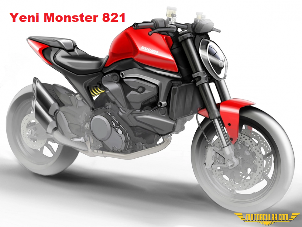Yeni Ducati Monster 821 Farklı Bir Şasi Kullanıyor