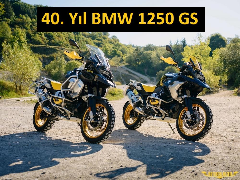 BMW R1250GS 40. Yıl Özel Versiyon Yenilikleri