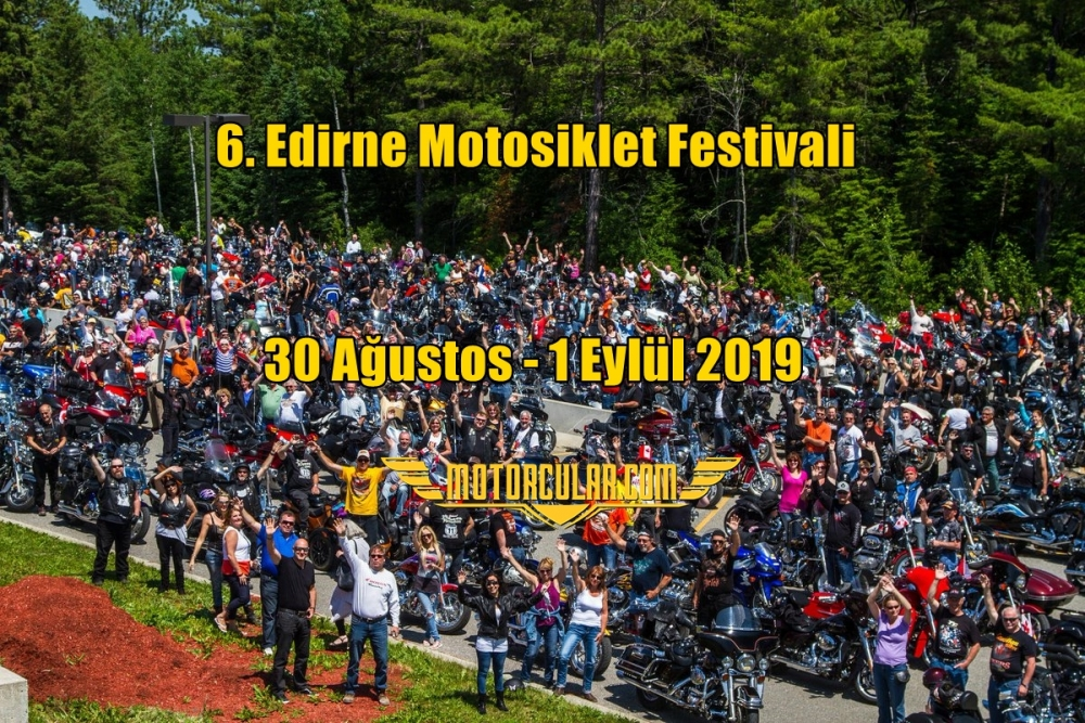 6. Edirne Motosiklet Festivali