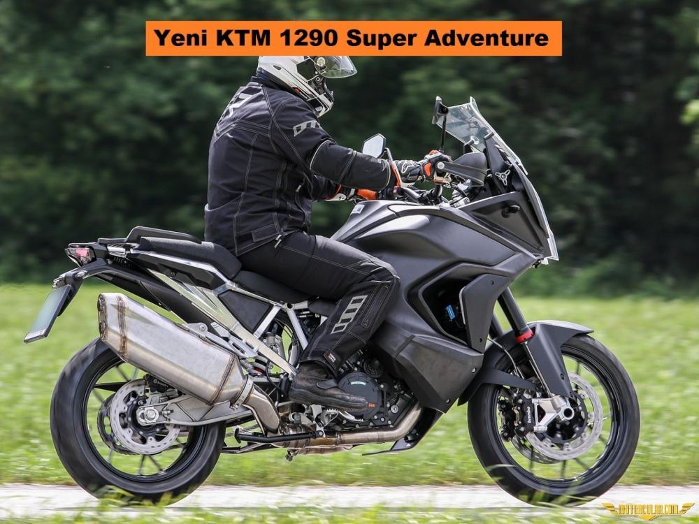 KTM 1290 Super Adventure Yenileniyor