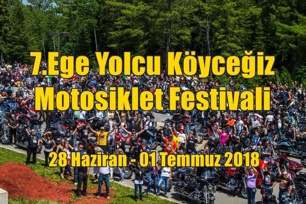 7.Ege Yolcu Köyceğiz Motosiklet Festivali