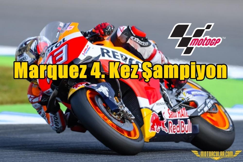 Marquez 4. Kez Şampiyon