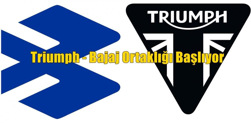 Triumph - Bajaj Ortaklığı Başlıyor