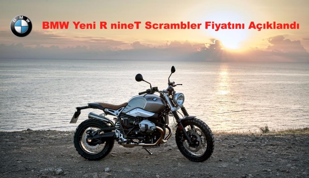 BMW Yeni R nineT Scrambler Fiyatı Açıklandı