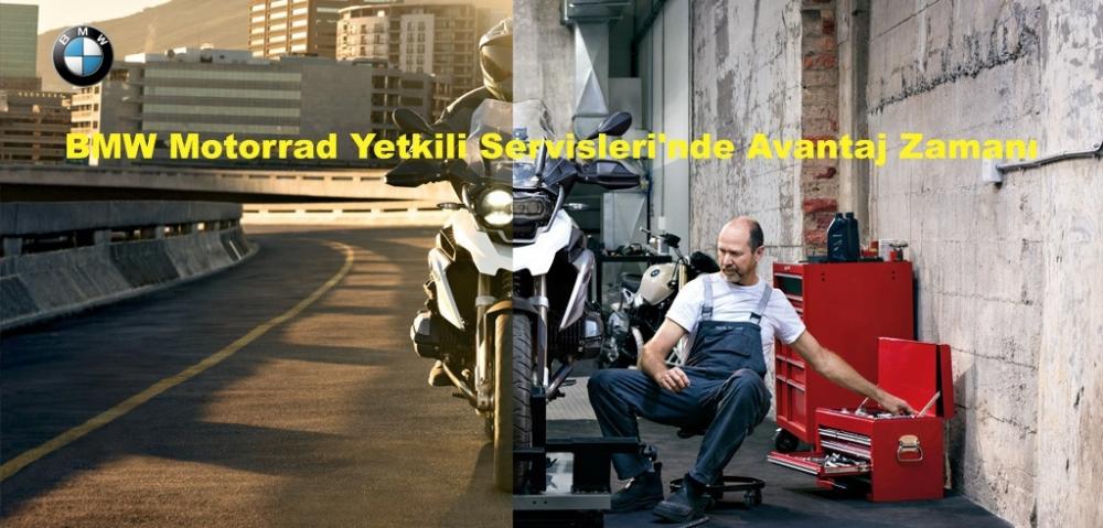 BMW Motorrad Yetkili Servisleri'nde Avantaj Zamanı