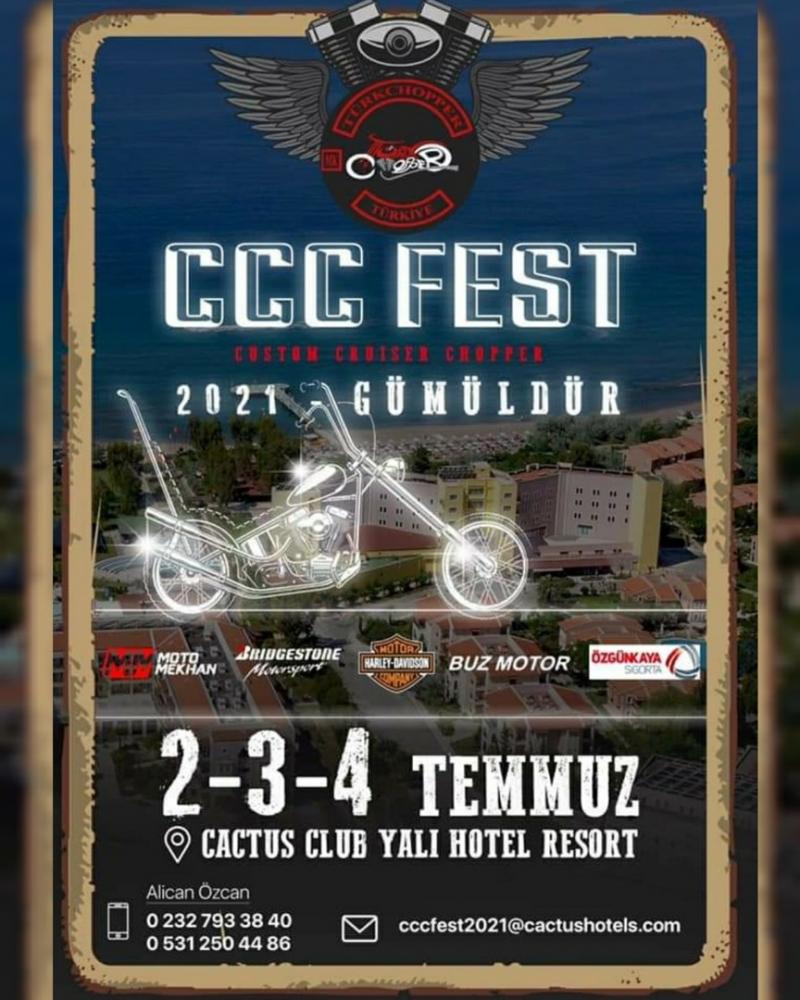 CCC FEST 2021 GÜMÜLDÜR 2-3-4 Temmuz 2021