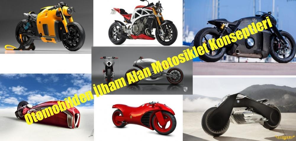 Otomobilden İlham Alan Motosiklet Konseptleri