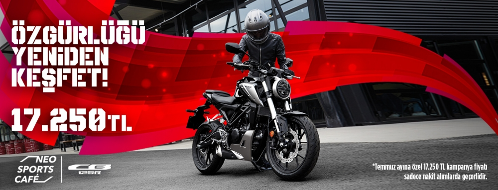 Honda CB125R Temmuz Fırsatı