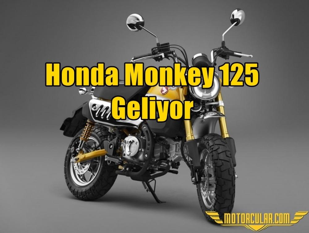 Honda Monkey 125 Geliyor