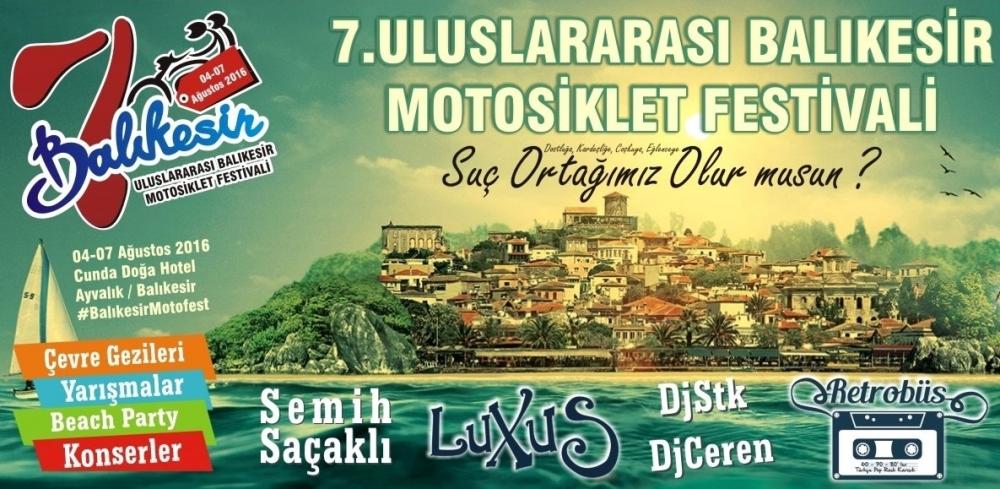7. Uluslararası Balıkesir Motofest 04-07 Ağustos 2016