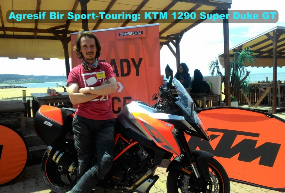 Agresif Bir Sport-Touring: KTM 1290 Super Duke GT
