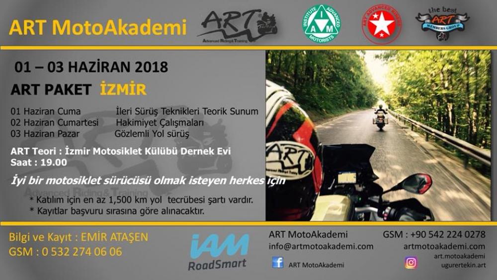 ART Paket İzmir 01-03 Haziran 2018