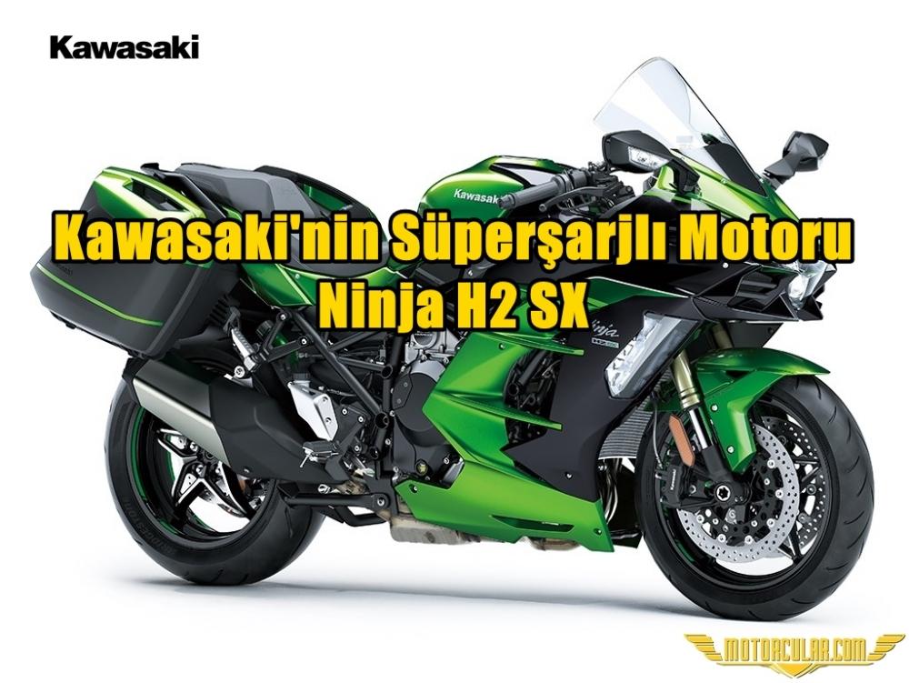 Kawasaki Süperşarjlı Motorunu Tanıttı