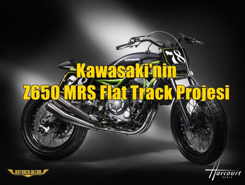 Kawasaki'nin Z650 MRS Flat Track Projesi