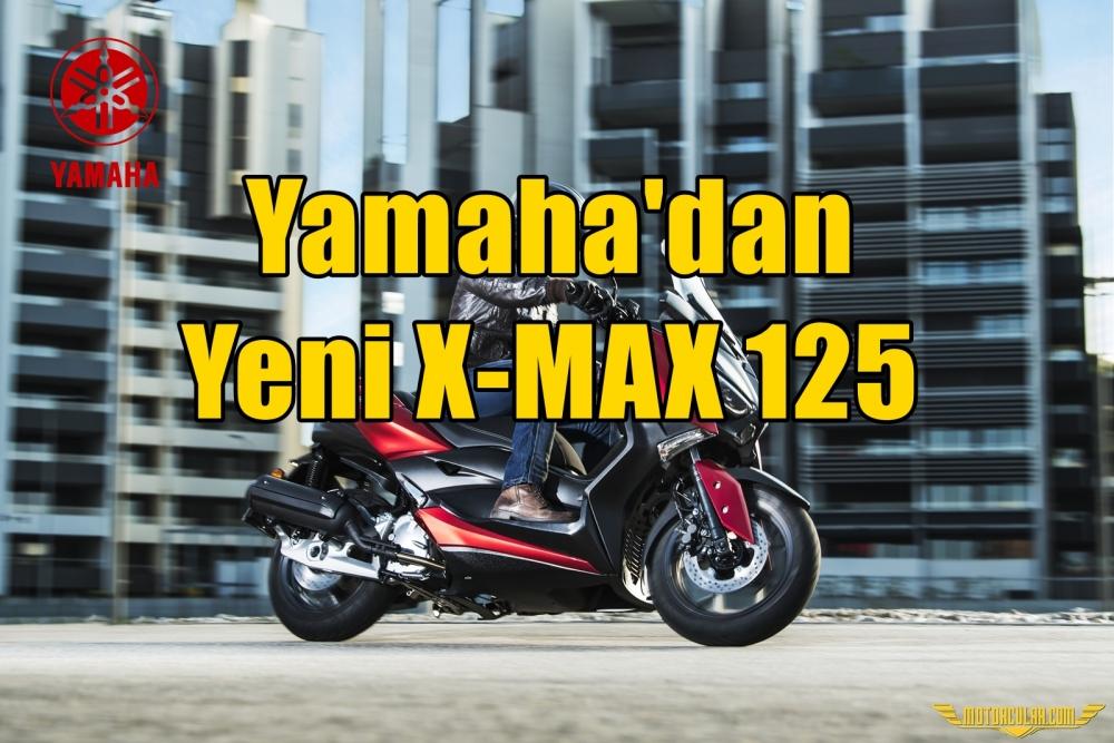 Yamaha'dan Yeni X-MAX 125