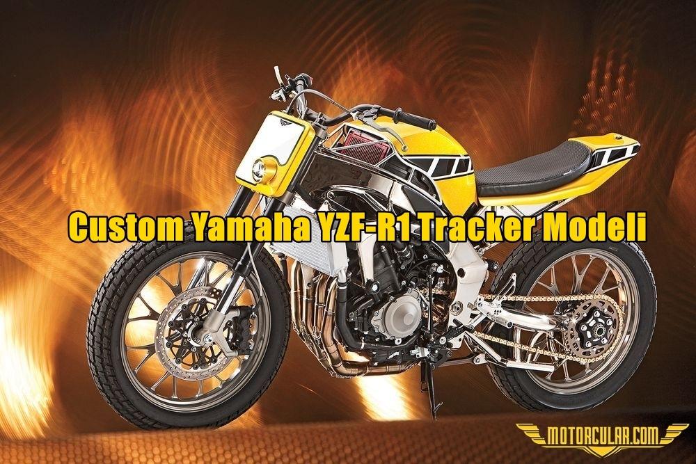Custom Yamaha YZF-R1 Tracker Modeli