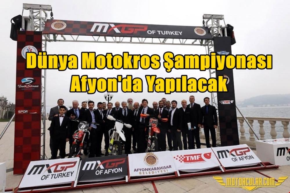 Dünya Motokros Şampiyonası Afyon'da Yapılacak