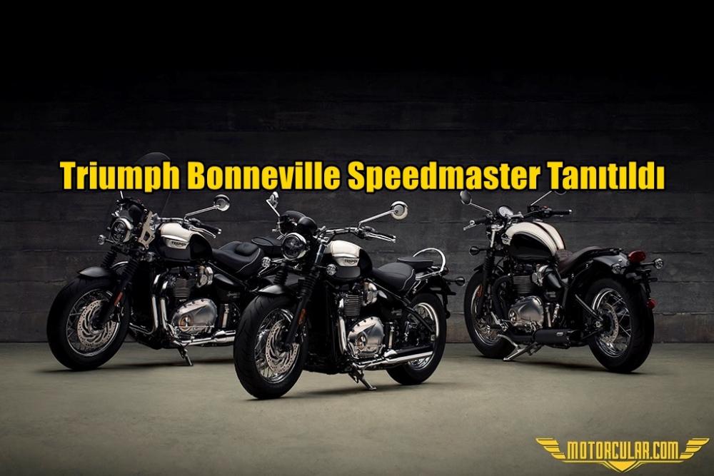 Triumph Bonneville Speedmaster Tanıtıldı
