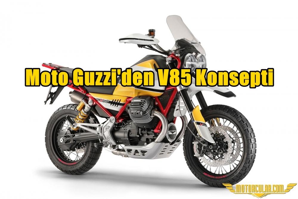 Moto Guzzi'den V85 Konsepti