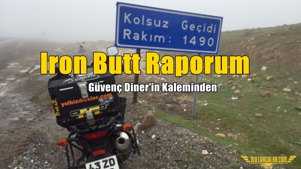 Iron Butt Raporum 4 Nisan 2015