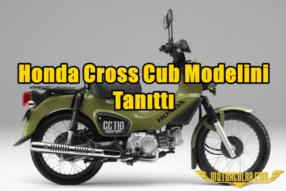 Honda Cross Cub Modelini Tanıttı