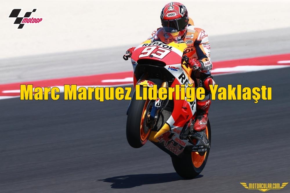 Marc Marquez Liderliğe Yaklaştı