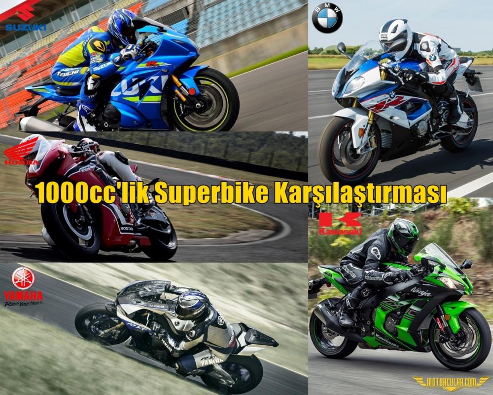 1000cc'lik Superbike Karşılaştırması