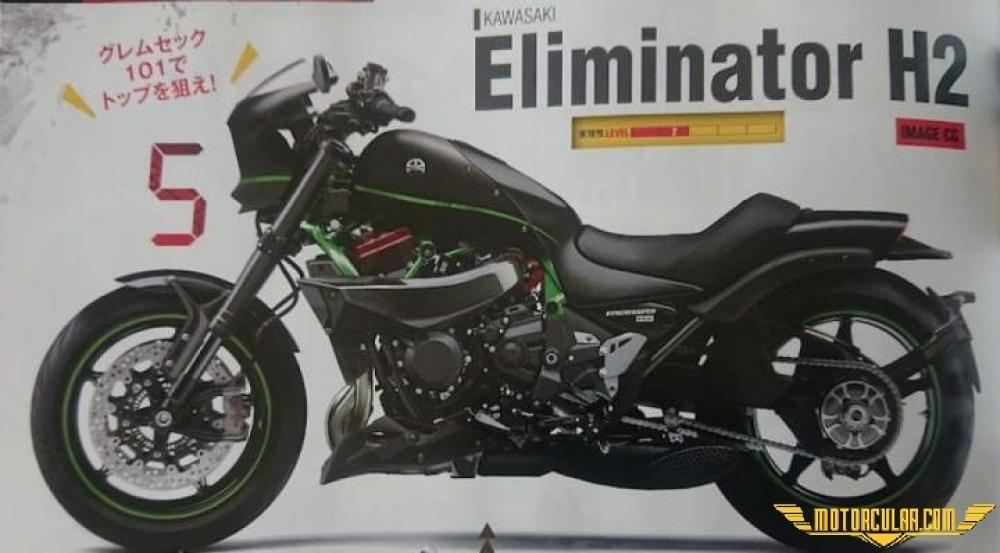 Kawasaki Eliminator H2 Cruiser Modeli