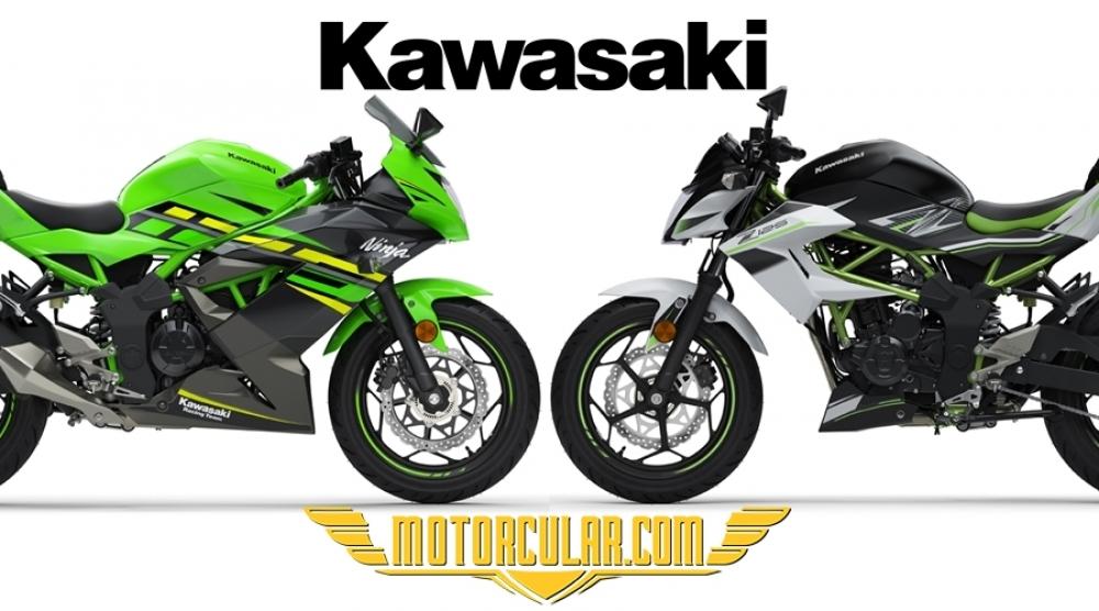 2019 Kawasaki Ninja 125 ve Kawasaki Z125