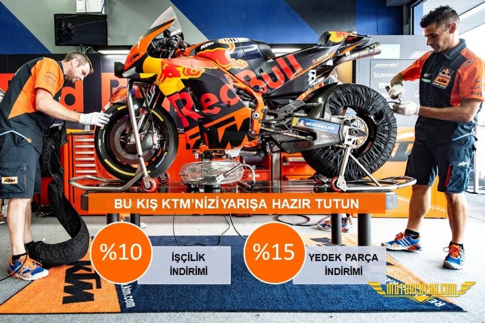 Bu Kış KTM'nizi Yarışa Hazır Tutun!