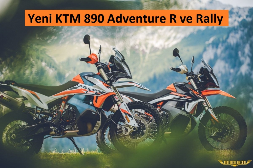 Yeni KTM 890 Adventure R ve Adventure R Rally