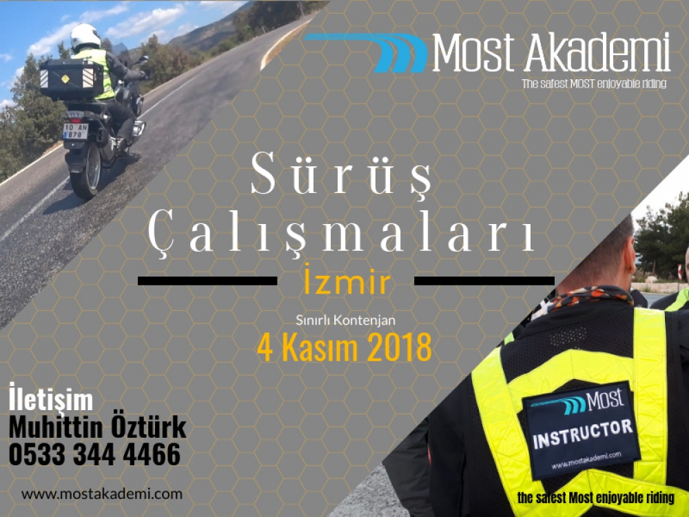 Most-Yol İzmir 4 Kasım 2018